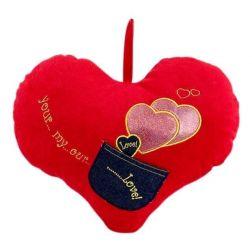 Corazón de Peluche con Bolsillo