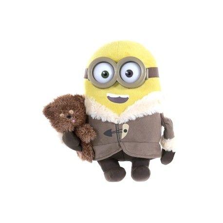 Minion Bob con Osito de Peluche