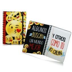 Tarjeta Acolchada Emoticonos