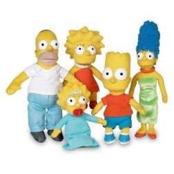 Peluche Bart Simpsons