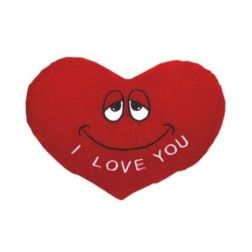 Corazón de Peluche Carita I Love You