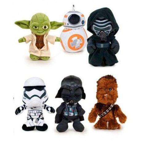 Nuevos Peluches Star Wars