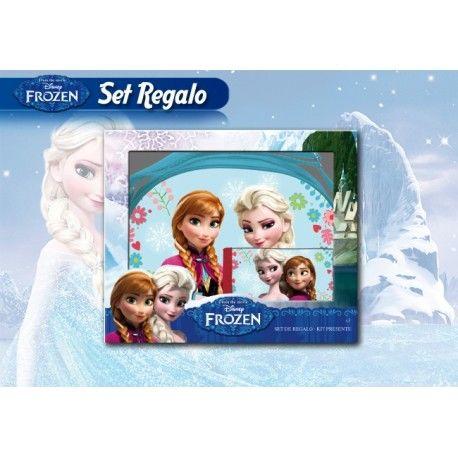 Set Frozen Bolsito + Cartera