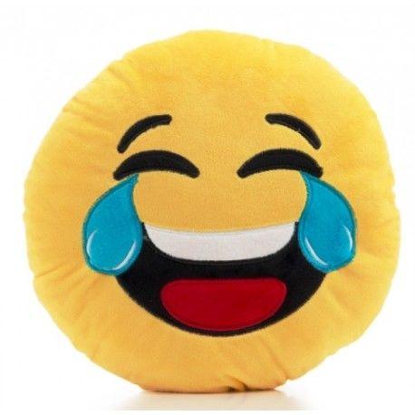 Cojín Emoticono Risa
