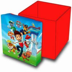 Caja guarda juguetes Paw Patrol