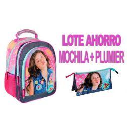 Soy Luna Mochila + Plumier