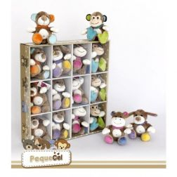 Pack 12 Animalitos en expositor