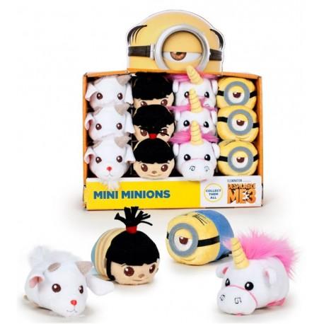 Mini Peluches Minions Colección