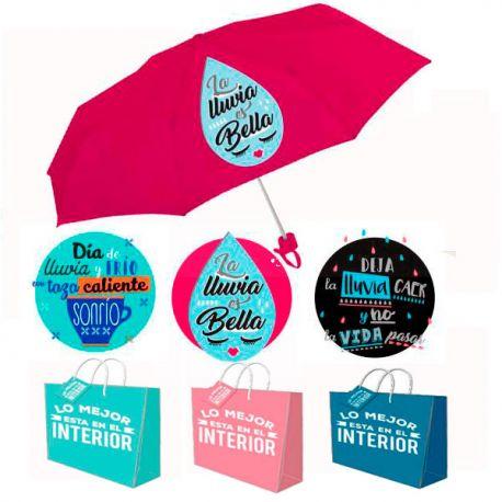 Paraguas con frases Originales