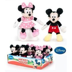 Mini Peluches Minnie y Mickey