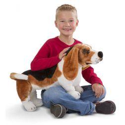 Peluche perro sabueso