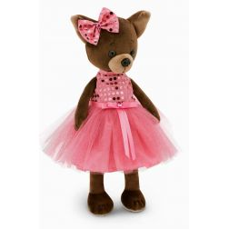 Lucky perrita chihuahua con vestido