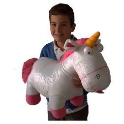 Unicornio de minions gigante