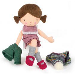 Muñeca de trapo Carolina
