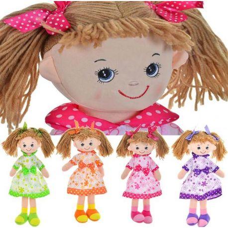 Muñecas coletas traje floral