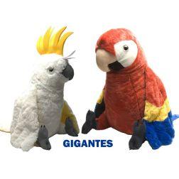 Guacamayo y Cacatúa Gigantes