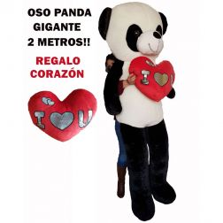 Peluche Panda Gigante 2 Metros