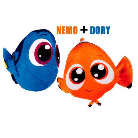 Peluche Nemo y Dory