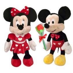 Peluche Minnie y Mickey Enamorados
