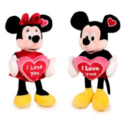 Mickey y Minnie I Love You