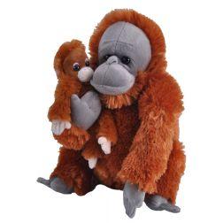 Peluche Orangután con bebé