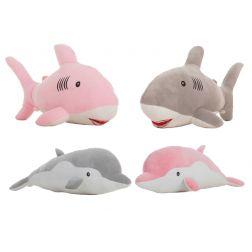 Peluche Delfin y Tiburón Extrasuave
