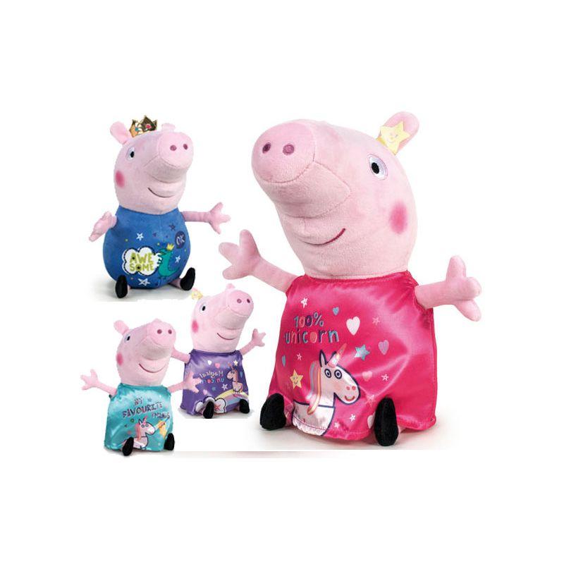 Peppa Peluches Pig Y George Magic-Gigantes George