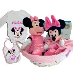 Cesta Bebe Minnie Mouse
