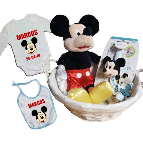 Cesta Bebe Mickey Mouse