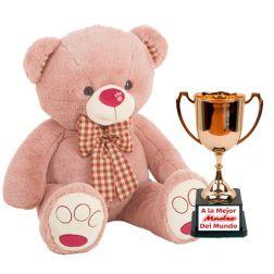 Peluche con Trofeo Personalizable