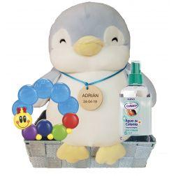Cesta Bebe Pingüino