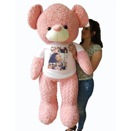 Oso Gigante Beig o Rosa Personalizado
