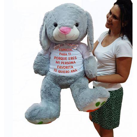 Conejo Peluche personalizable