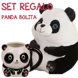 Panda Bolita Set Regalo