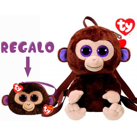 Mochila Ty Coconut + Monedero