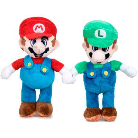 Peluche Mario y Luigi