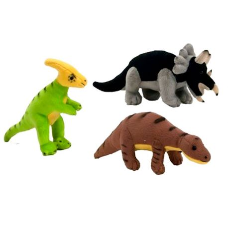 Peluches Dinosaurios Pack 3 Unid.