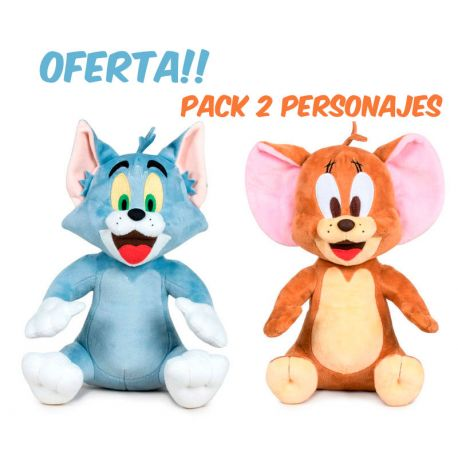 Peluches Tom y Jerry