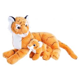 Peluche Tigre con Bebé