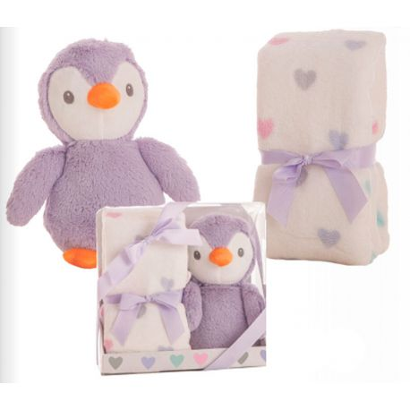 Set Regalo Bebé Pingüino