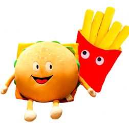 Peluche Hamburguesa con patatas