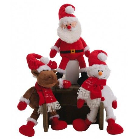 Muñecos Navideños patilargos