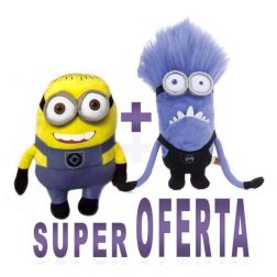 Oferta Pack 2 Peluches Minions