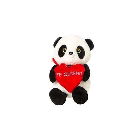 Osito Panda Corazón Te quiero 30 cm.